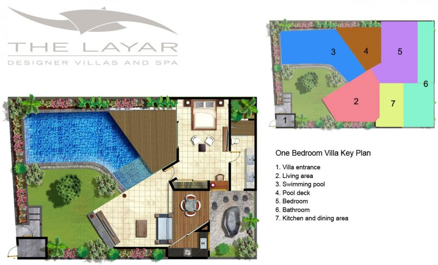 Villa The Layar - 1 bdr  Plan